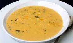 Caldo de vegetais antiácido: batata, cenoura, aipo, cebola, alho e farelo de aveia