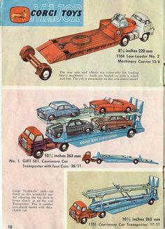 reproduction box Boîte copie repro Corgi Toys 477 land rover breakdown truck