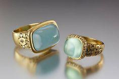 Loving these Ales Sepkus rings.