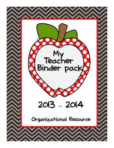 Are you ready for an organized classroom? I have the answer to all of your organizational needs with my teacher organization pack. This organizati. School Fun, School Stuff, School Ideas, Back To School, First Year Teachers, New Teachers, Teacher Binder Organization, Free Printable Worksheets, Printables