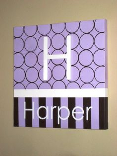 wall words hand painted wood on canvas 12 x 12 initial and canvas design ideas - Canvas Design Ideas