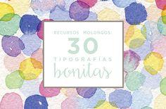 recursos molongos: 30 tipografías bonitas