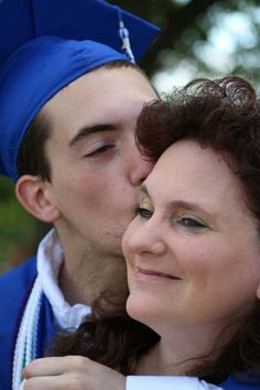 Wesley and Mom - Graduation Day - 2014