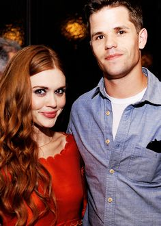 Holland Roden and Max Carver attend the 'Deliver Us From Evil' screening after party.