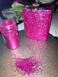 Always crafting with glitter omg im so doing this since mine in plain.. :0