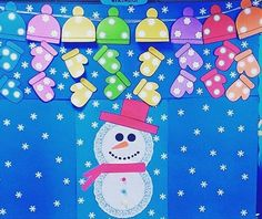 Winter craft and project idea for preschoolers Winter Bulletin Boards, Homeschool, Projects To Try, Winter Craft, Education, Board Ideas, Holiday Decor, Project Ideas, School Ideas