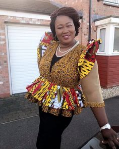 The versatility of the Ankara fabric cannot be overemphasized; one of the many things you can achieve with this beautiful fabric is the Ankara tops. Today, we bring you variety… African Attire, African Wear, African Fashion Dresses, African Women, African Style, Fashion Outfits, Womens Fashion, Ankara Tops, Latest Ankara Styles