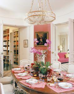 Jacques Grange designed Paris apartment for Mathilde Agostinelli. House & Garden May 2006