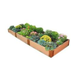 Frame It All�144-in L x 48-in W x 12-in H Resin Raised Garden Bed