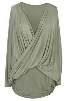 Cupshe Pleat Don't Leave Me Cross Top