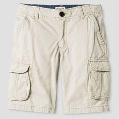 Boys' Cargo Shorts Cat & Jack Oyster 18, Boy's