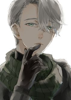 Image result for victor yuri on ice hot