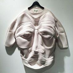 Henrik Vibskov. Origami Face Sweater.