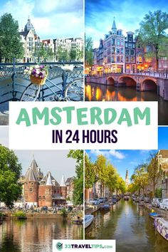 Planning to spend one day in Amsterdam? Check out the perfect one day in Amsterdam including the best things to see and do in Amsterdam, how to get to Amsterdam, and many more. Amsterdam One Day | What to do in Amsterdam in One Day | Amsterdam Things to do in one Day | Amsterdam One Day Itinerary | Amsterdam One Day Trip | Amsterdam Travel Guide | 24 hours in Amsterdam | Amsterdam in one day | What to See in Amsterdam | Amsterdam Netherlands | What to Eat in Amsterdam | Where to Eat in… European Travel Tips, European Destination, European Vacation, Road Trip Europe, Europe Travel Guide, Amsterdam Travel Guide, Travel Guides, Places To Travel, Travel Destinations
