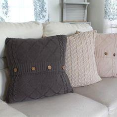 Jane.com - Crazy4Embroidery Comfy Sweater Pillow Covers - AdoreWe.com