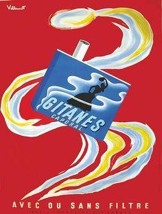 Gitanes ~ Bernard Villemot