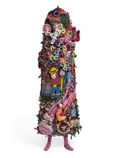 "Nick Cave, ""Soundsuit,"" 2011. Mixed Media. Mary Boone Gallery, New York. Photo by Jim Prinz."
