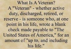 VALUE OUR VETERANS | Honoring Our Veterans today and always! Make Every Day Veterans Day ...