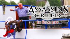 Jay Karl's Pranks - Assassin's Creed Meets Parkour In Real Life - Prank