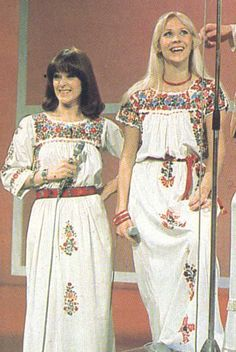 Anna with Frida