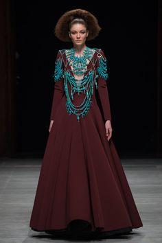 Robe Julien Fournié Haute Couture PE 2015