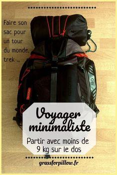 Travel minimalist kg! Minimalist Packing, Summer Minimalist, Materiel Camping, Voyage Europe, Digital Nomad, Travel Packing, Travel Essentials, Van Life, Dream Vacations