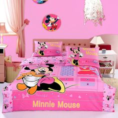 Minnie Mouse toddler bedding for kids will be the great decision for those who want to diversify the interior child's room. The children's room is the territory of children. The task of parents is to ensure that children there are comfortable, relaxed and fun. A beautiful children's room will add to the joys and sensations of ...