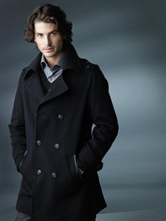 a man and his coat.