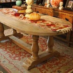 Londonberry Trestle Dining Table In Reclaimed Wood by Jerod Lazan