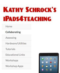 [iPad] A useful iPad page from educator, Kathy Shrock. Apps For Teaching, Learning Apps, Mobile Learning, Teaching Tools, Instructional Technology, Educational Technology, Technology Tools, Music Classroom, Google