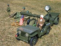 Vintage GI Joe Jeep with other Sets - Overview