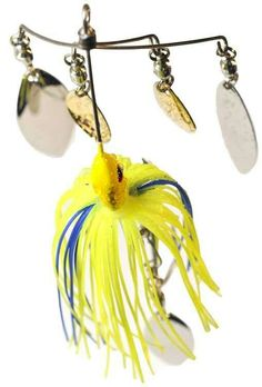 4 bladed Bait Ball spinnerbait by Real Fish Bait #buzzbait #blade