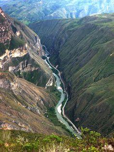 Utcubamba River - Chachapoyas, Amazonas, Peru: mijn eerste grote reis. We gingen met minimale voorbereiding.