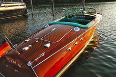 Riva boat - Berlin, Wannsee
