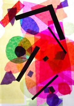 """Diese Unterrichtseinheit nähert sich in drei Schritten dem Bild """"Himmelblau"""" von Wassily Kandinsky. 1. Doppelstunde: Wir sprechen über Muster. Was ist überhaupt ein Muster? Wir schauen uns im Klassenzimmer nach Mustern um und machen einen Gang um die Schule. Die entdeckten Muster werden fotografisch festgehalten. Anmerkung: Als Muster bezeichnet man in der Kunst eine gleichbleibende grafische Struktur, die sich in regelmäßigen Abständen wiederholt. Einige Beispiele von Mustern, die ..."""