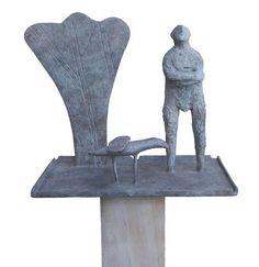 Birdtable by Christopher Marvell | Bronze | 40.5 x 48.2 cm | Edition of V #christophermarvell #tannerandlawson #sculpture