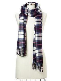 cac491be358e9 Cozy classic plaid scarf   Gap $29.95 Cute Scarfs, Tartan Plaid, Plaid Scarf ,