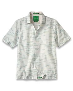 Tommy Bahama - Island Modern Fit Too Cool for School Camp Shirt