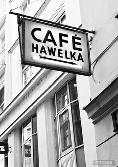 Cafe Hawelka in Vienna. It's rumored that Beethoven used to eat here.