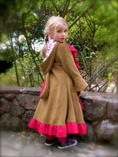 Bunnycoat/ Little Brown Bunny size 4 / 5 by inthewishingwood, $90.00