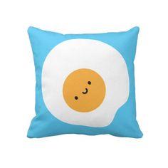 Almohada del huevo frito de Kawaii por askingfortrouble
