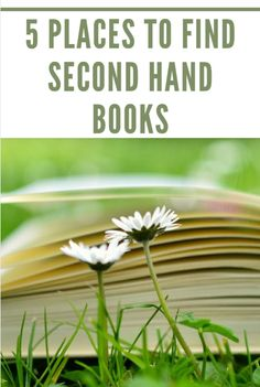 5 places to find second hand books #books #libros #used