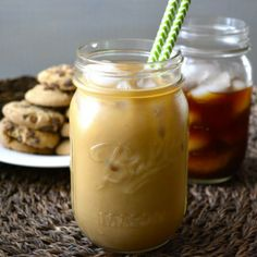 Refreshing Iced Coffee perfect for summer.