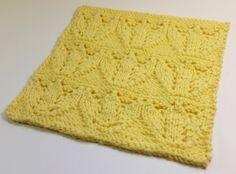 Tulip Fields Square- knitting loom pattern
