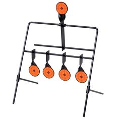 Shop today for Auto Reset Spinner Shooting Target with 4 + 1 Targets. This auto reset spinning target with 4 + 1 targets will be a great training aid to improve your shooting skills and accuracy. The auto reset spinning target is great for Metal Shooting Targets, Metal Targets, Shooting Practice, Target Setting, Rifle Targets, Target Practice, Air Rifle, Shooting Range, Shots