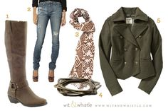 Yeah, boots! And jackets! And scarves!