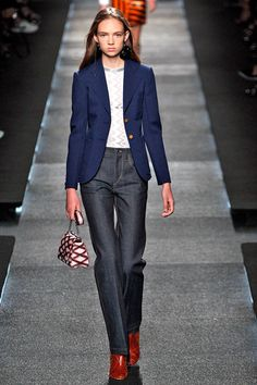 Could These Trends Replace Skinny Jeans For Good? #refinery29  http://www.refinery29.com/weird-denim-trends-2015