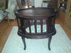 ebay, antiker Teeschrank oder Barschrank Echtholz