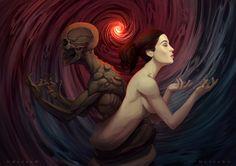 Völuspá, the origin and the end of the world  like on: https://www.facebook.com/massaroalfonso/photos/a.128332770638133.21571.123372261134184/539084259562980/?type=3&theater