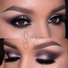 """"""" palette by with """"Starlet"""" lashes✨✨ details will be up soon💕 Stunning Makeup, Stunning Eyes, Pretty Makeup, Love Makeup, Beauty Makeup, Makeup Looks, Hair Makeup, Hair Beauty, Magical Makeup"""